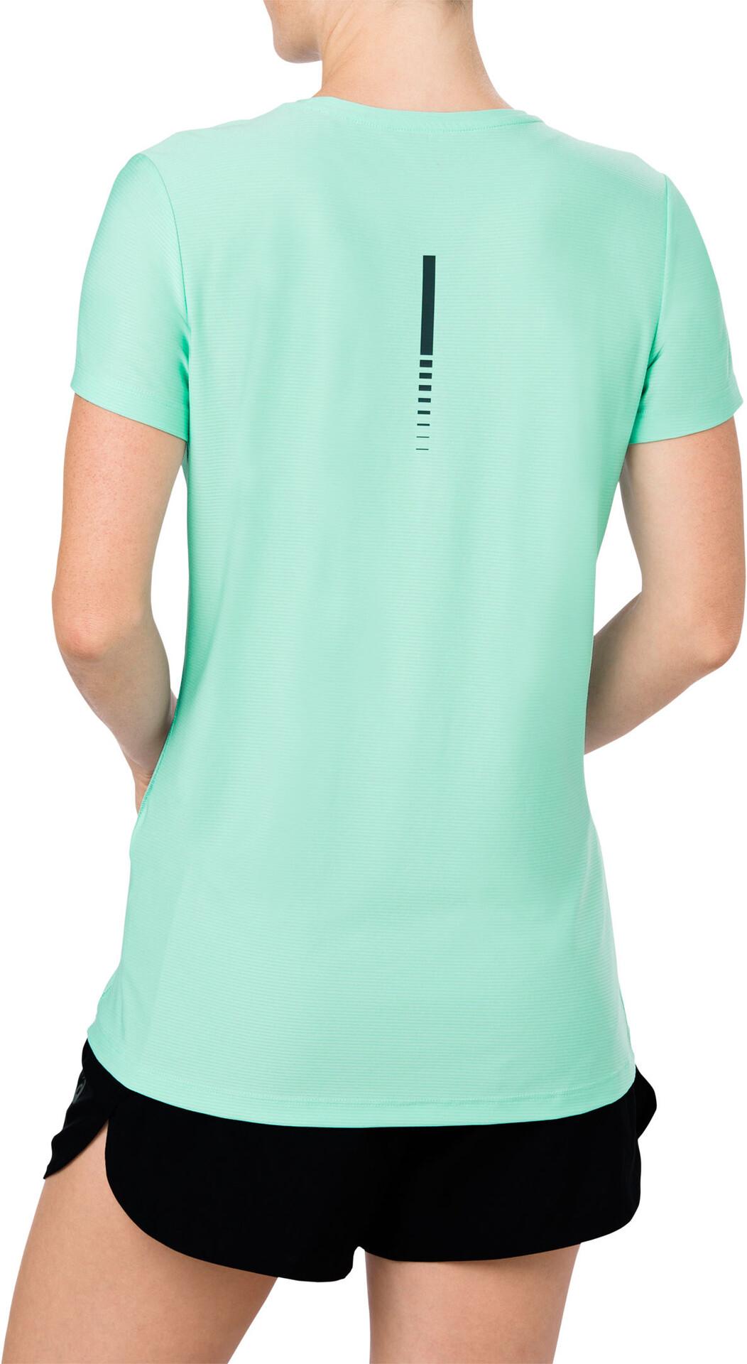 Shirt Ss À Vert Femme T Course Asics Top Pied J31FKcuTl